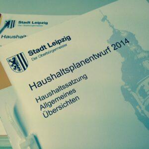 Haushaltsplanentwurf 2014